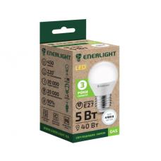 LED лампа ENERLIGHT G45 5Вт 4100К Е27