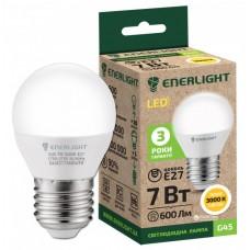 LED лампа ENERLIGHT G45 7Вт 3000К Е27