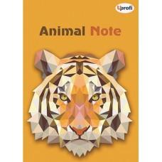 """Блокнот TM Profiplan """"Animal note"""", orange, B6. 50674"""