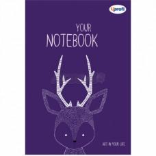 Блокнот TM Profiplan Artbook violet. 50384. a5