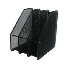Лоток верт.3 від. метал. FS-05 (Z022) чорний