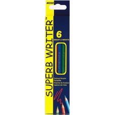"""Кольор. олівці """"MARCO"""", 6 кольор. шестигран. 4100-6СВ"""