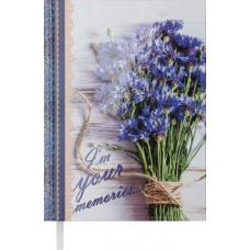 Ежедневник недатированный ROMANTIC, A5, синий.BM.2040-02