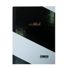 Блокнот INTENSO, А-5, 96л., клетка, тв. картон. обкл., чорний BM.24511105-01