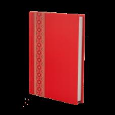 Щоденник недатований А5 BUROMAX UKRAINE 288 стр червоний ВМ.2021-05