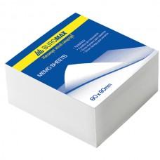 Блок білого паперу для нотаток JOBMAX 80х80х20мм., не скл. ВМ.2207