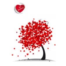 Щоденник недатований А5 АРКУШ ART 1В538 Дерево кохання