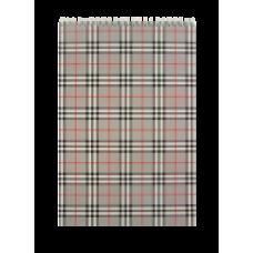 """Блокнот на пружині, А4, 48 арк,""""BURBERRY""""  клітинка, картонна обкладинка,сірий, ВМ. 2460-09"""