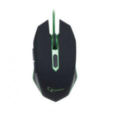 Мышь Gembird MUSG-001-G, USB інтерфейс, зелений колір