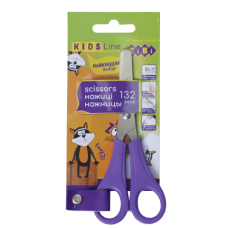 Ножиці дитячі 132мм, для лівші, фіолетовий, KIDS Line, ZB. 5018-07