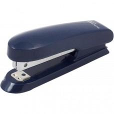 Степлер пластиковий до 15арк. (скоби №10), синій, ВМ. 4100-02