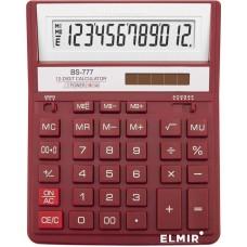 Калькулятор BRILLIANT BS-777RD 12р., 2-пит, червоний