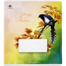 Зошит 48арк. Поділля лінія Крила і квіти 13065