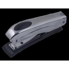 Степлер металевий Металік до 12арк., (скоби №10), срібний BM.4150-24
