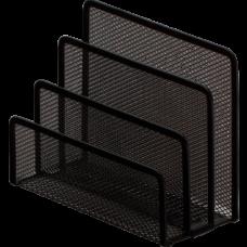 Підставка для листів 170х80х135мм, металева,чорна ВМ.6210-01
