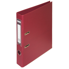 Реєстратор ELITE двост. А4, 50мм, PP, бордовий, збірний.BM.3002-13