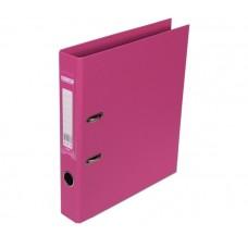 Реєстратор ELITE двост. А4, 50мм, рожевий, PP, збірний.BM.3002-10