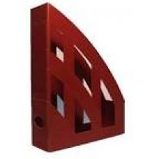 Підставка д/д верт.1 відд. КИП ЛВ-01 темно-червоний