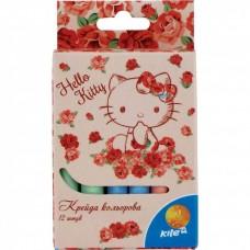 Крейда кольорова KITE 12 кольор. Hello Kitty HK15-075