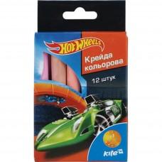 Крейда кольорова KITE 12 кольор. Hot Wheels HW15-075K