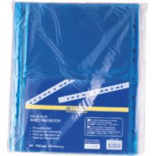 Файл для документів А4, 40мкм, PROFESSIONAL, 100шт, синій BM.3810-02