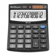 Калькулятор BRILLIANT BS-212 12р., 2-пит