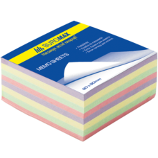 "Блок паперу для нотаток ""Декор"" 80х80х30мм, скл., ВМ. 2272"