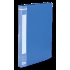 Папка A4 із швидкошивачем, синій, ВМ. 3407-02