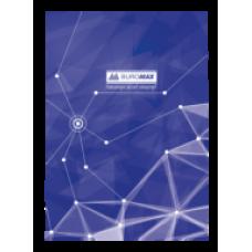 """Книга обліку """"Піраміди"""" 96 арк/кліт.оф.(тв. лам. обл), А4, синій, ВМ. 2400-702"""